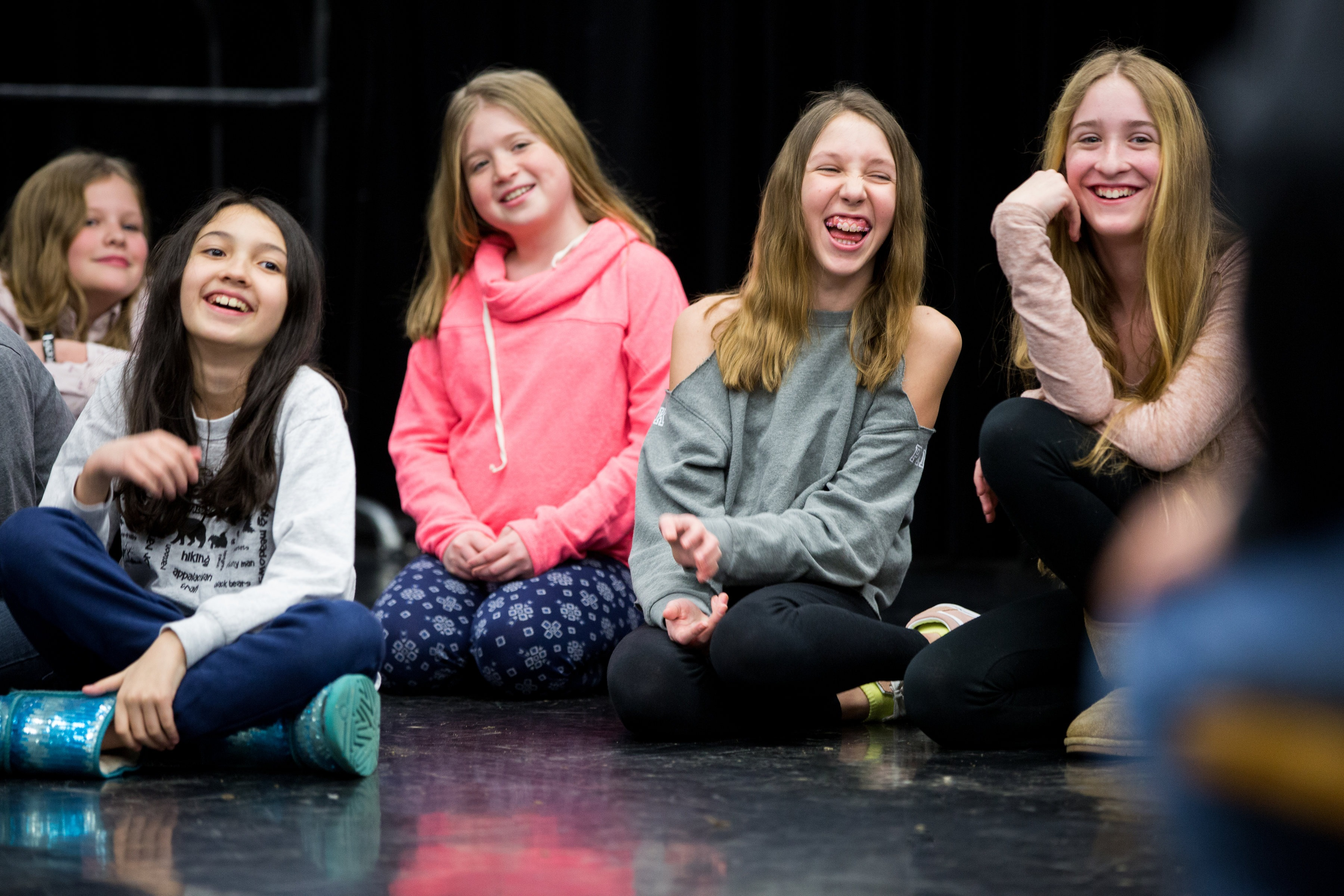 acting classes for kids in center for theater arts