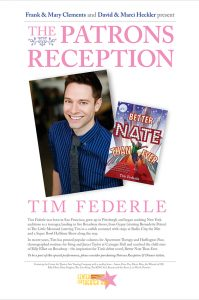CTA Alum, Broadway veteran and acclaimed author Tim Federle joined us in 2013  for an unforgettable evening and WORKSHOP with our students! - CTA Gala 2013.