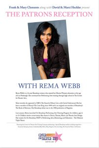 CTA Alum and Broadway's REMA Webb  - CTA Gala 2014
